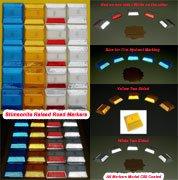 WHITE Reflector PLUS double stick adhesive butyl pad