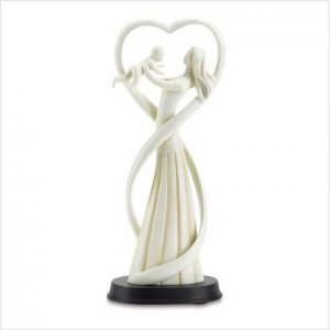 MOTHER AND BABY FIGURINE