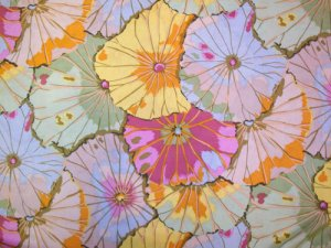 Kaffe Fassett Lotus Jade Fabric