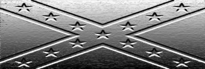 Rebel flag (steel)