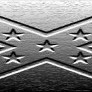 Rebel flag (steel)