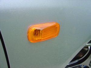 02+ EP3 Civic Si / DC5 RSX Amber Sidemarkers + Wire Harness