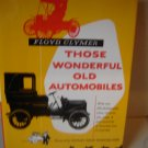 Those Wonderful Old Automobiles vintage 1953 book Floyd Clymer antique car photos ads memories