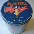 vintage Mr Peanut tin collectible Planters Mixed Nuts  1980s limited edition