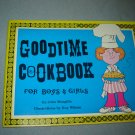 Goodtime Cookbook for Boys & Girls vintage childrens recipe book 1973