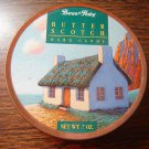 Brown & Haley butterscotch hard candy vintage small round collectible tin
