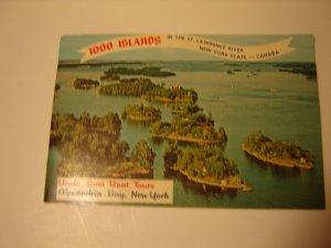 vintage 1000 Islands souvenir booklet photos & historical information 1971 FREE SHIPPING