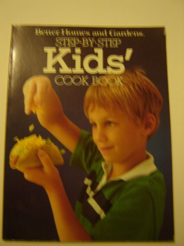 vintage Kid's Cookbook 1984 Better Homes and Gardens childrens recipes paperback