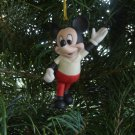 Mickey Mouse collectible ornament Disney Schmid vintage ceramic in original box