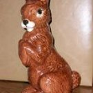 Tall & Handsome Ceramic Brown Bunny