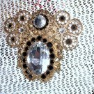 Signed Rhinestone Brooch by Jane AOL 1993