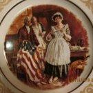 Betsy Ross Flag Plate + paper insert