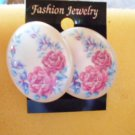 Plastic Clip On Spring Earrings-