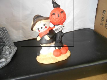 Cutesy Halloween Figurine