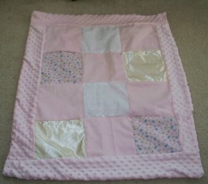 Baby Quilt in Pink
