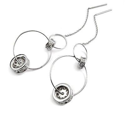 24903-Sterling silver earrings