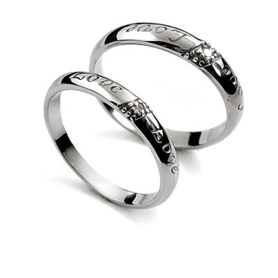 25091-sterling silver platium plated ring