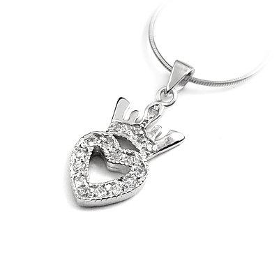 23978-Sterling silver pendant