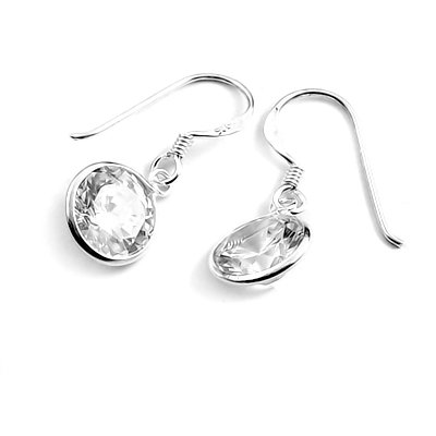 24028-Sterling silver earring