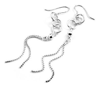 24033- Sterling silver earring