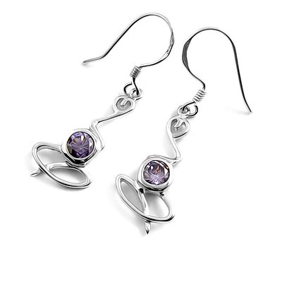 24055-Sterling silver earring