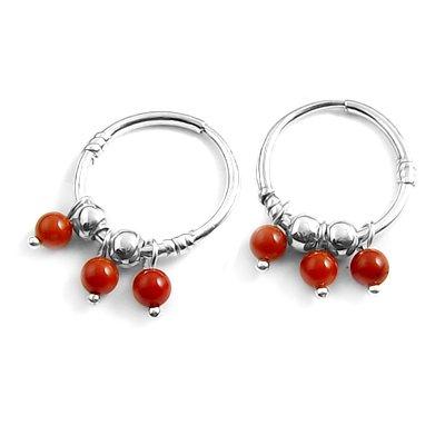 24057-Sterling silver earring
