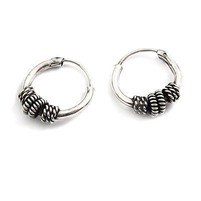 24166- Thailand silver earring