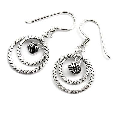 24320-Sterling silver earring