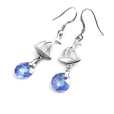 24322-Sterling silver earring