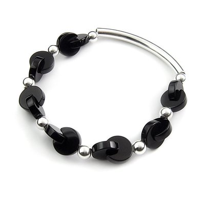 24413-Sterling silver bracelet