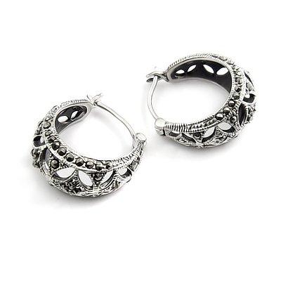 24427-Thailand silver earring