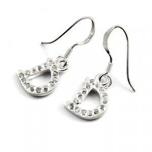 24431-Sterling silver earring