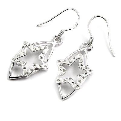 24518-sterling silver earring