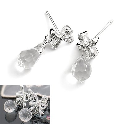 24526-sterling silver with resin earring