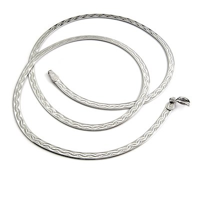24527-men's sterling silver necklace