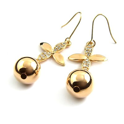 24564-alloy with stone earring