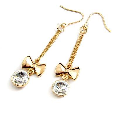 24568-alloy with rhinestoe earring