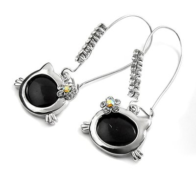 24570-alloy with stone earring
