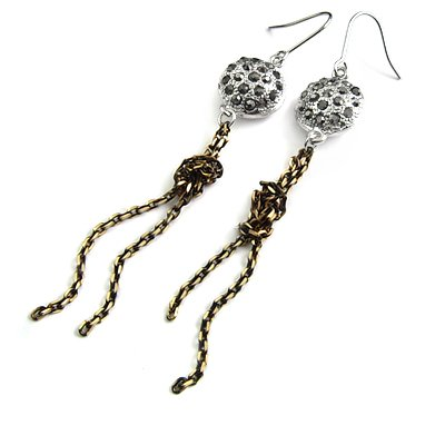 24579-alloy with stone earring