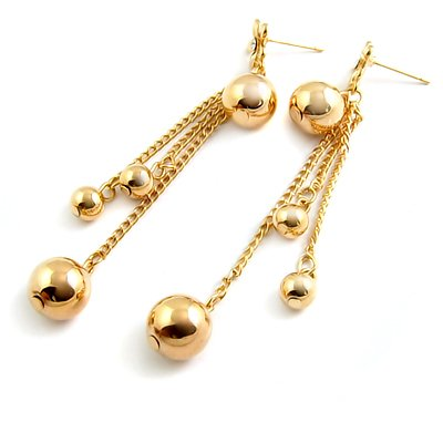 24582-alloy with stone earring