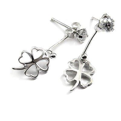 24734-sterling silver with rhinestoe earring