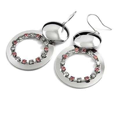 24736-alloy with rhinestoe earring