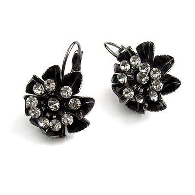 24744-alloy with rhinestoe earring