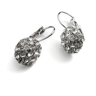 24745-alloy with rhinestoe earring