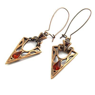 24760-alloy with rhinestoe earring