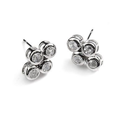 24768-alloy with rhinestoe earring