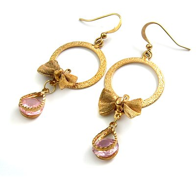 24769-alloy with rhinestoe earring