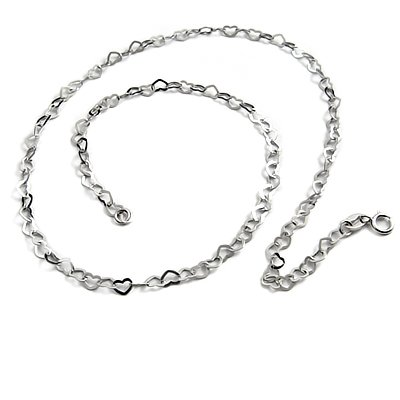 24784-sterling silver necklace