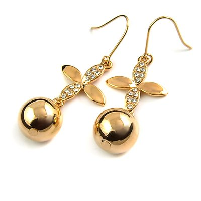 25182-alloy with stone earring