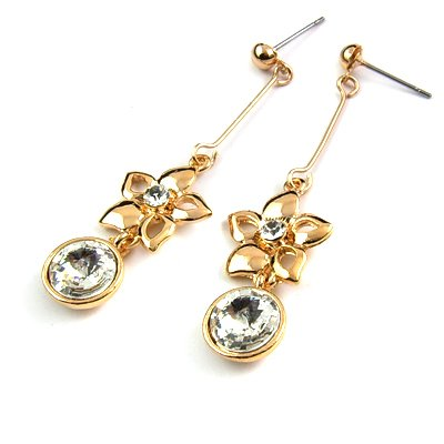 25185-alloy with stone earring